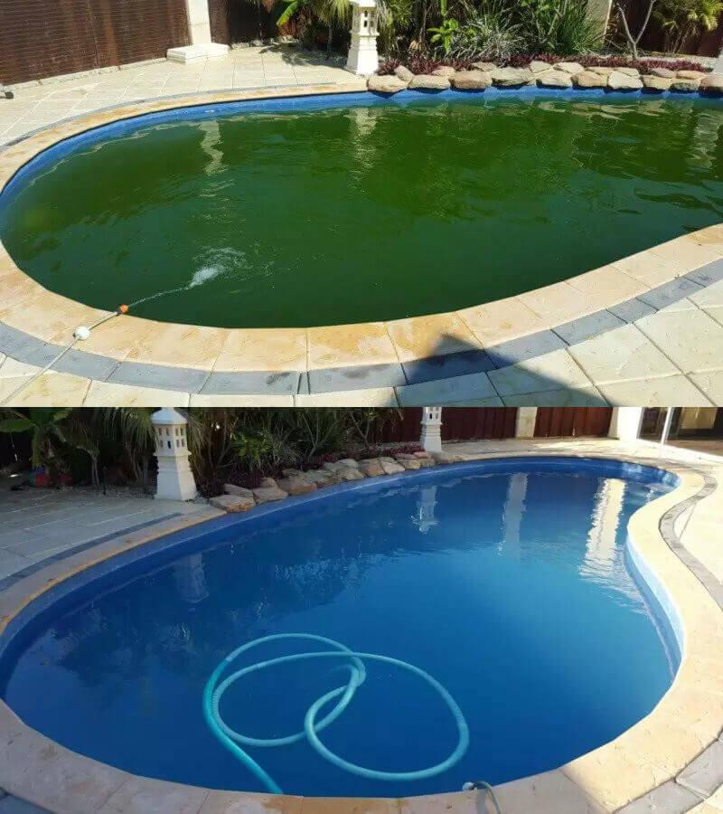 Green Pool Shock Treatment