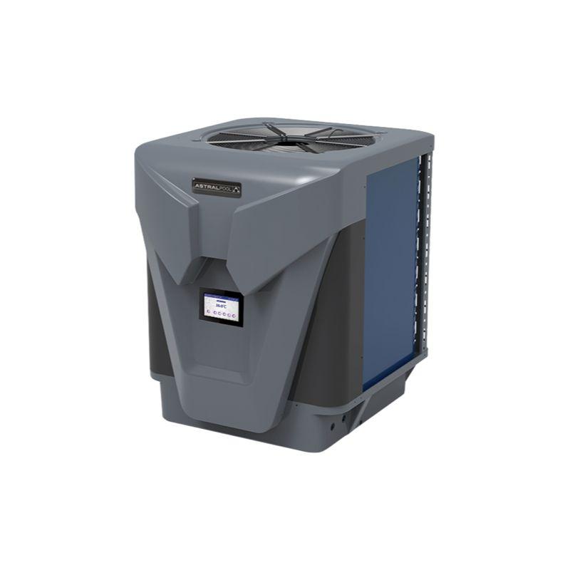 Top discharge heat pump